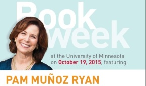 Book Week: October 19, 2015 featuring Pam Munoz Ryan