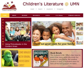 Say Hello to the Children's Literature @ UMN Site!