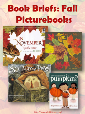 Book Briefs: Fall Picturebooks