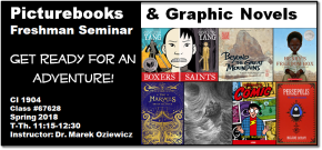 Spring Course Announcement: Picturebooks & Graphic Novels