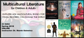 Spring Course Announcement: Multicultural Literature for Children & Adults(ONLINE)