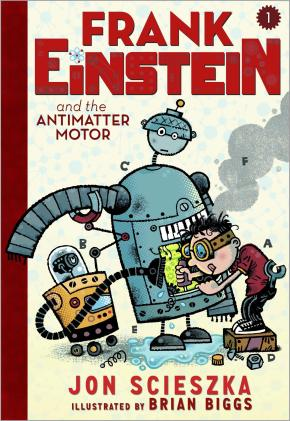 Review: Frank Einstein and the Antimater Motor by Jon Scieszka