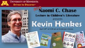 Naomi C. Chase Lecture 2018: Meet KevinHenkes