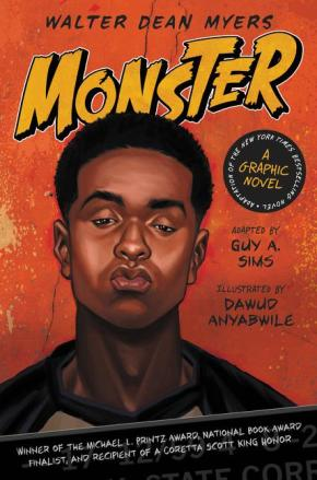 Review: Monster by Walter Dean Myers, illustrated by Dawud Anyabwile