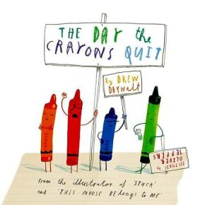 Review: The Day the Crayons Quit by Drew Daywalt, illustrated by Oliver Jeffers